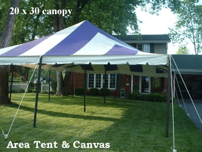 Party tents canopies area tent canvas hemlock for Build your own canvas tent